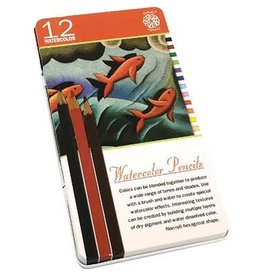 PENTALIC PENTALIC WATERCOLOUR PENCIL SET/12