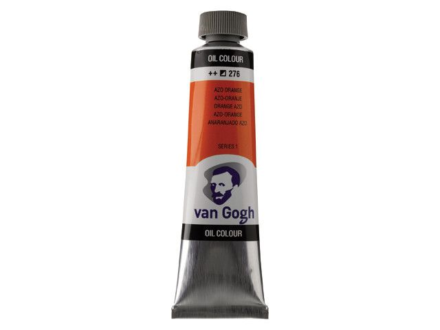 ROYAL TALENS VAN GOGH OIL COLOUR AZO ORANGE 40ML