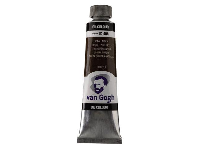 ROYAL TALENS VAN GOGH OIL COLOUR RAW UMBER 40ML