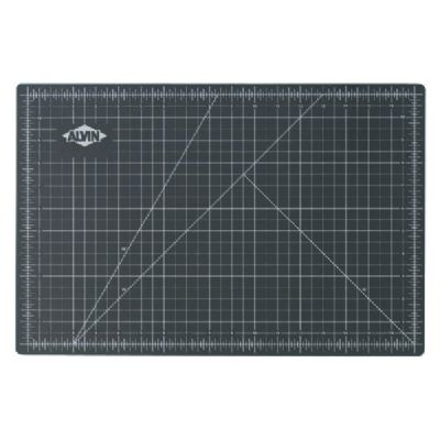 ALVIN ALVIN CUTTING MAT 12X18 GREEN/BLACK