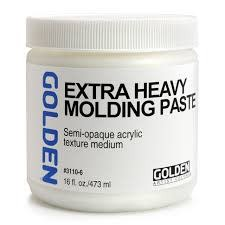 GOLDEN GOLDEN EXTRA HEAVY GEL/MOLDING PASTE