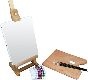 ART ADVANTAGE ART ADVANTAGE MINI EASEL OIL SET    E200-ST