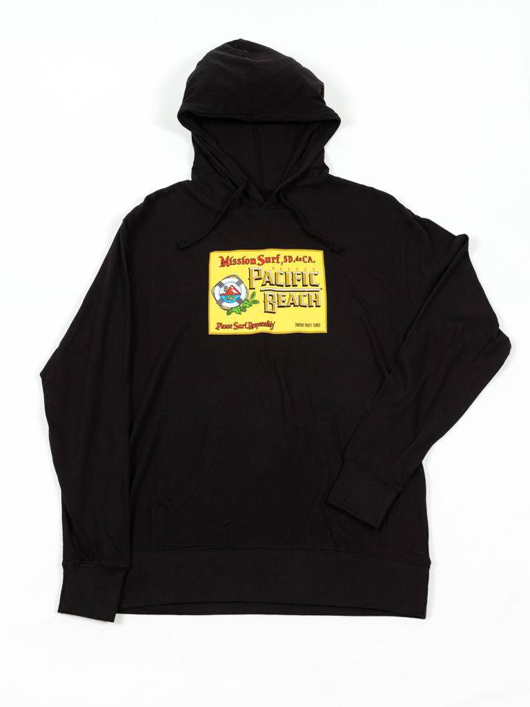 Mission Surf MISSION SURF - PACIFICO - LTWT PULLOVER HOODIE -