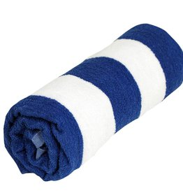 "BLUE CABANA STRIPE TOWEL 30"" x 60"""