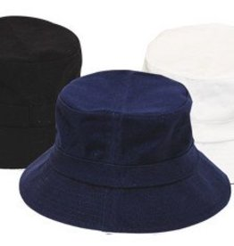 BUCKET HAT 100% COTTON