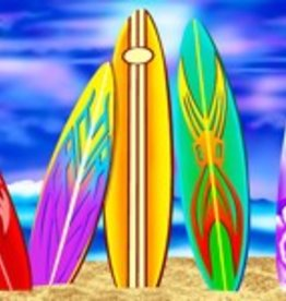"Wet Products SURFBOARDS BEACH TOWEL PLUSH VELOUR 30"" x 60"""