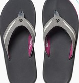 Reef REEF WOMENS SLAP 3 CHARCOAL / PLUM