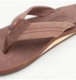 Rainbow Sandals Premier Leather Expresso Single Layer Arch LXL0