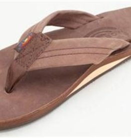 Rainbow Sandals Premier Leather Expresso Single Layer Arch