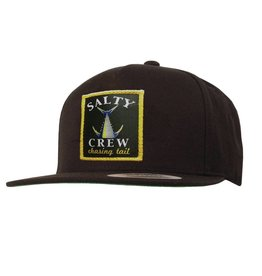 Salty Crew PATCHED HAT Chasing Tail - BLACK