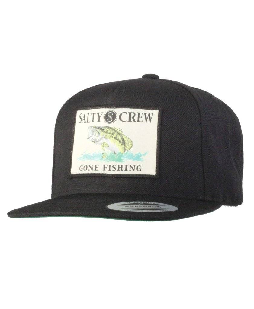 Salty Crew SALTY CREW BIG MOUTH HAT - BLACK