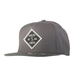 Salty Crew SALTY CREW TIPPET PATCHED 5 PANEL HAT - CHARCOAL