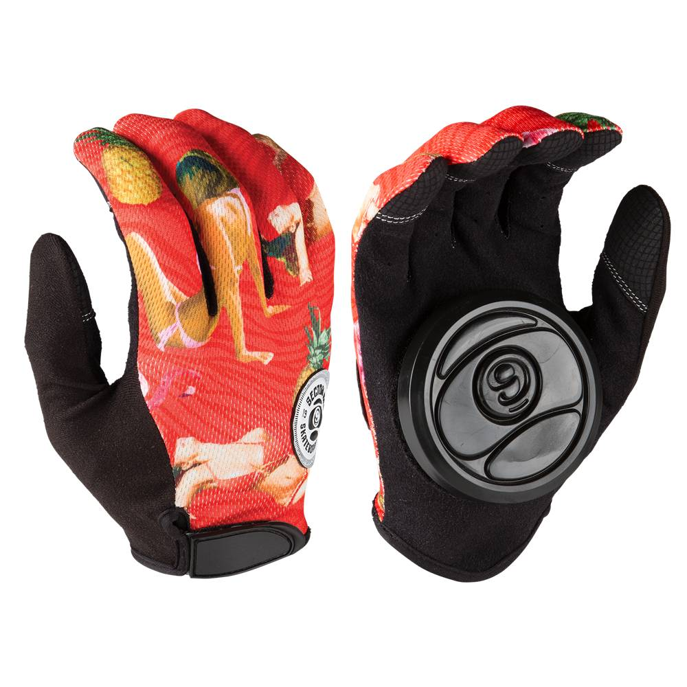 Sector 9 Sector 9 Rush Slide Gloves - Red