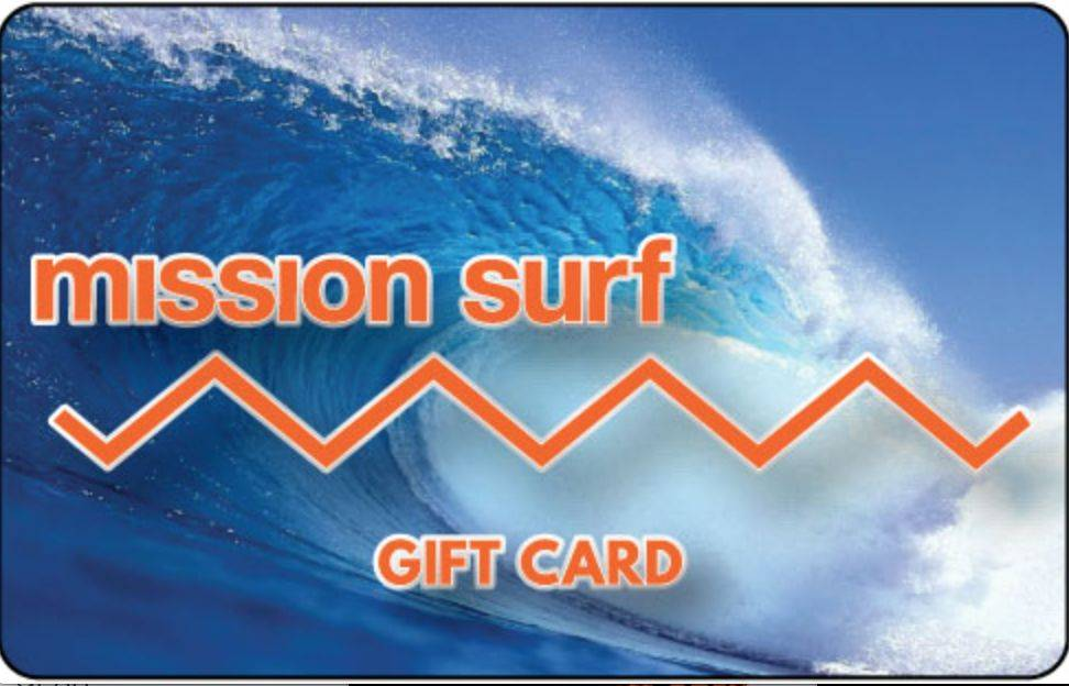 Mission Surf GIFT CARD $500