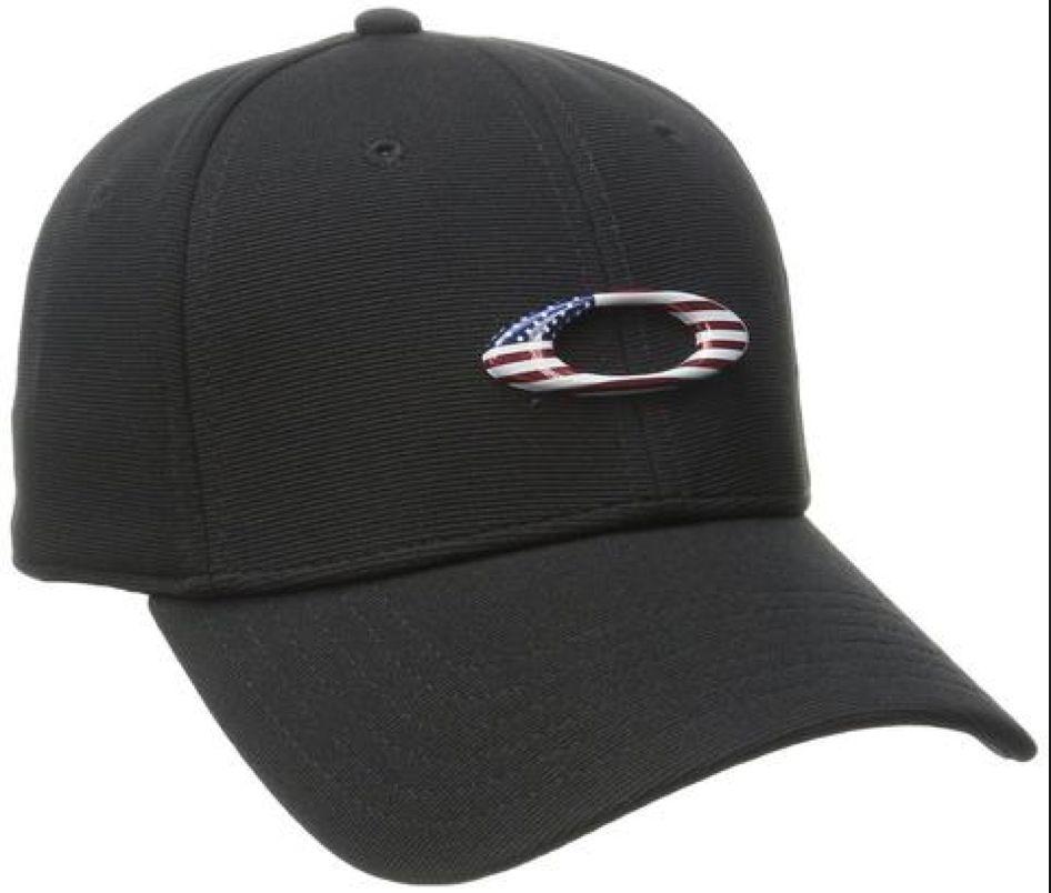 Oakley OAKLEY TINCAN CAP Black/American Flag S/M