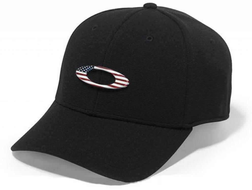 Oakley OAKLEY TINCAN CAP Black/American Flag L/XL