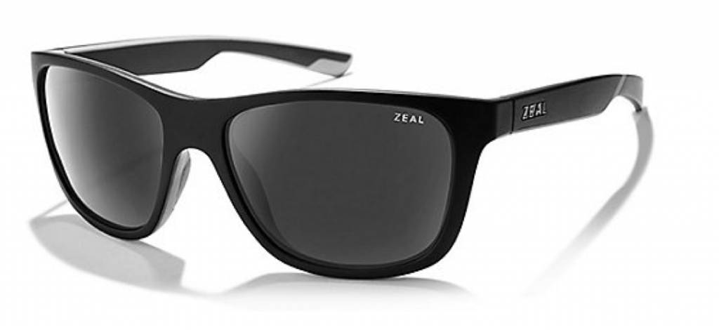 ZEAL RADIUM MATTE BLACK DARK GREY