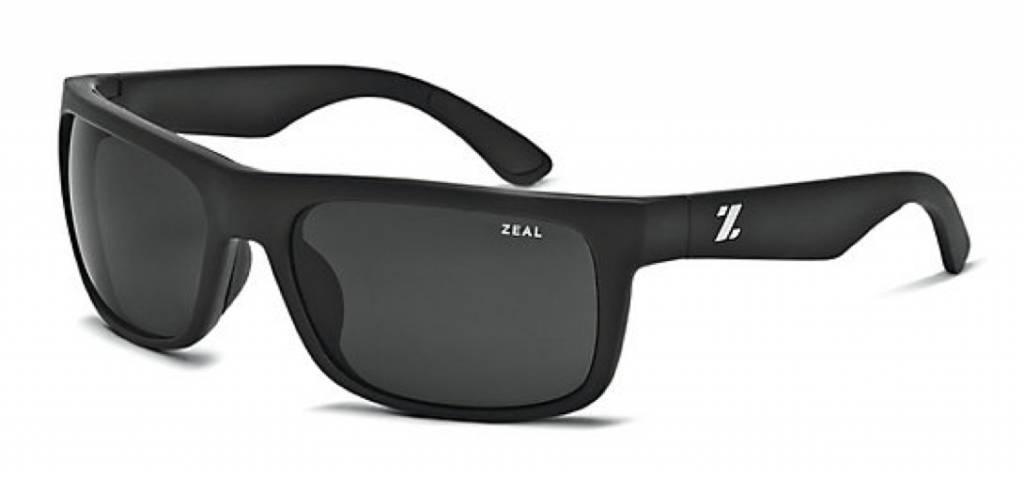 ZEAL ESSENTIAL Matte Black/Dark Grey