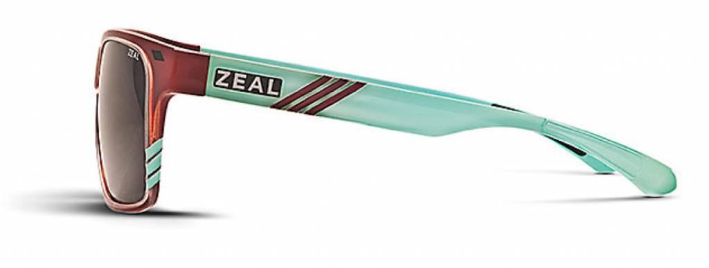 ZEAL BREWER Caramel/Turquoise/DarkGrey