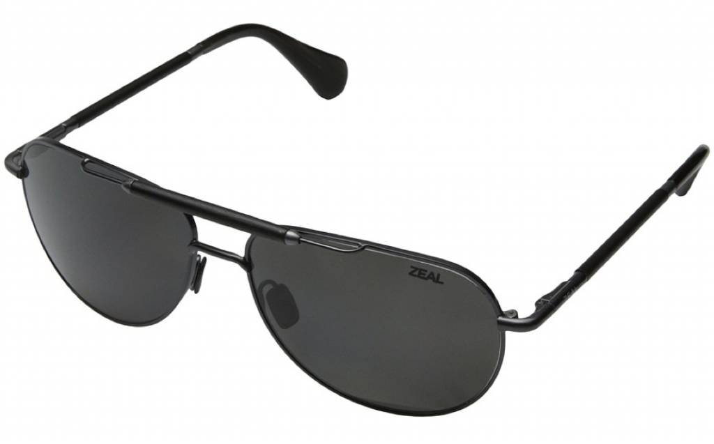 Zeal Optics ZEAL BARSTOW Polished Steel/Ellume Dark Grey