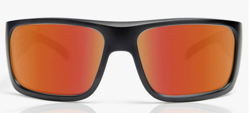 Madson MADSON MANIC Black Matte/Red Chrome Polarized