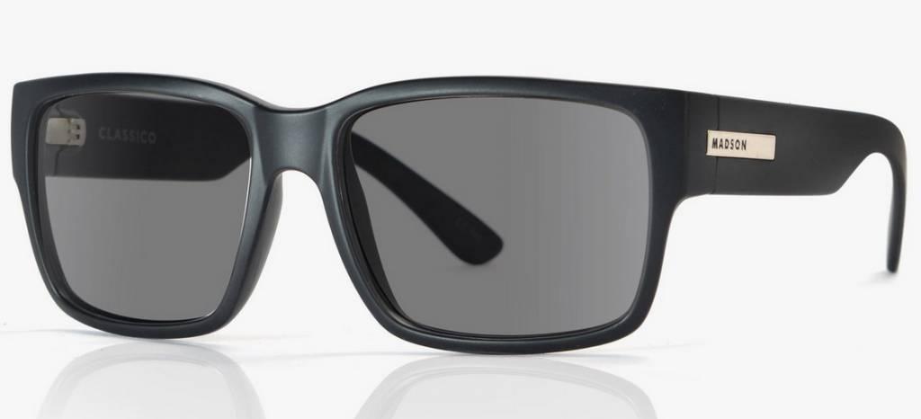 Madson MADSON CLASSICO Black Matte/Grey Polarized