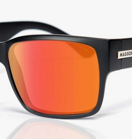 Madson MADSON CLASSICO BLACK MATTE / RED CHROME POLARIZED