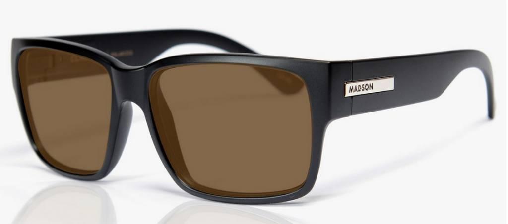 Madson MADSON CLASSICO BLACK MATTE / BRONZE POLARIZED
