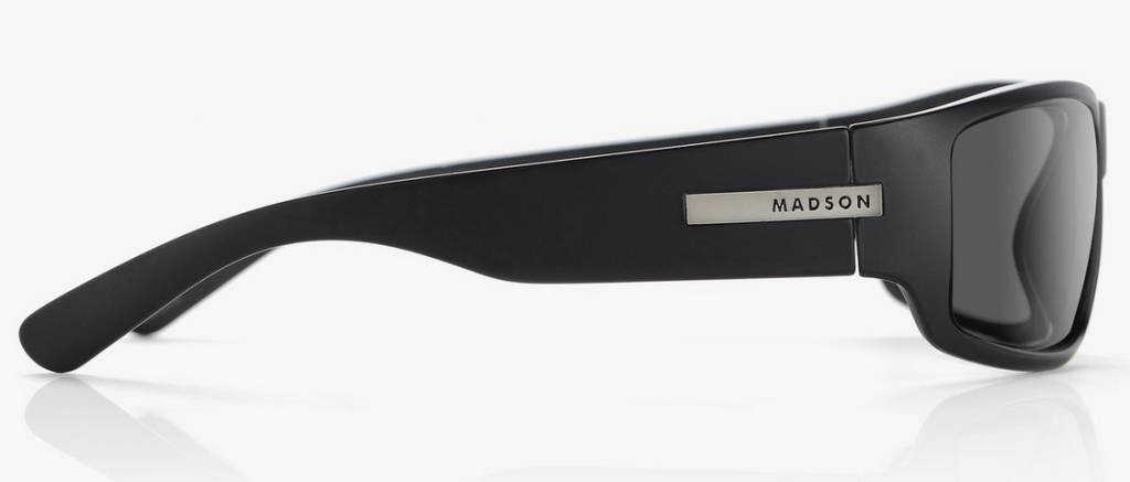Madson MADSON 101 BLLACK MATTE / GREY POLARIZED