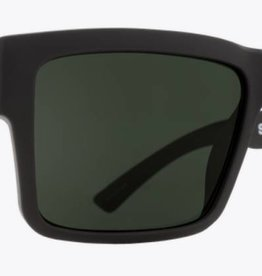 Spy Optic SPY MONTANA SOFT MATTE BLACK - HAPPY GRAY GREEN POLAR