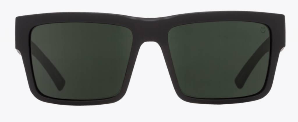 Spy Optic SPY MONTANA SOFT MATTE BLACK - HAPPY GRAY GREEN POLAR