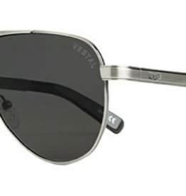 Vestal VESTAL WESTERLIES - BRUSHED SILVER/GREY POLARIZED/SMOKE BLACK
