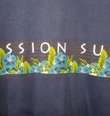 Mission Surf SURF BAND - BLUE FLORAL HOODIE