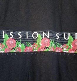 Mission Surf SURF BAND - RED FLORAL BAJA HOODIE