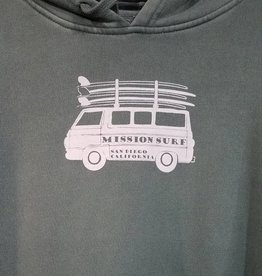 Mission Surf MS - VAN PIGMENT DYED CREW