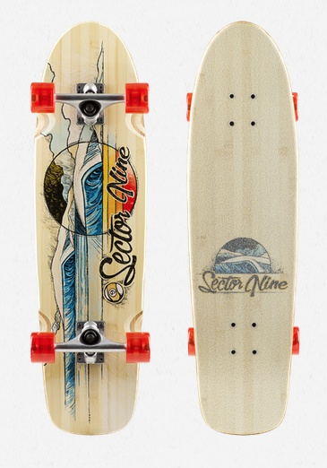 """Sector 9 SECTOR 9 - BAMBOOZLER 31.5"""" X 8.5"""" COMPLETE"""