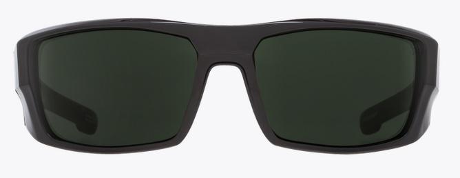 Spy Optic SPY DIRK SOFT MATTE BLACK - HAPPY GRAY GREEN POLAR