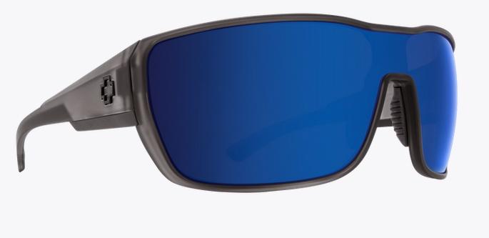 Spy Optic SPY TRON 2 MATTE GREY SMOKE HAPPY BRONZE W/ BLUE