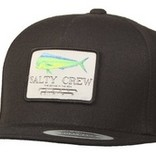 Salty Crew SALTY CREW MAHI MOUNT 5 PANEL HAT - BLACK