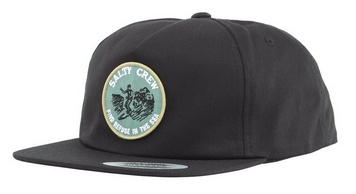 Salty Crew SALTY CREW SURF CLUB 5 PANEL HAT - BLACK