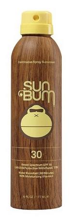Sun Bum SUN BUM SPF 30, 6 OZ. CONTINUOUS SPRAY