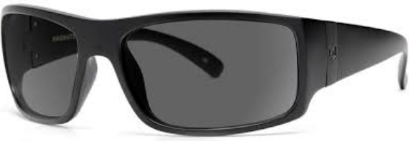 Madson MADSON MAGNATE BLACK ON BLACK / GREY POLARIZED