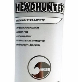 Headhunter HEADHUNTER SPF 30 SUNSCREEN PREMIUM CLEAR / WHITE 3oz.