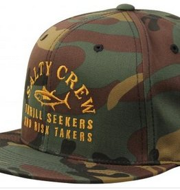 Salty Crew SALTY CREW FISH MARKET 6 PANEL HAT - CAMO