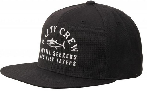 Salty Crew SALTY CREW FISH MARKET 6 PANEL HAT - BLACK