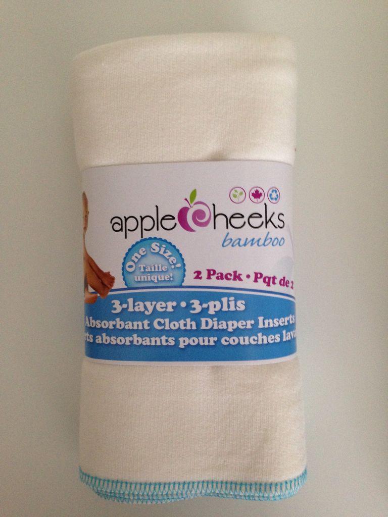 AppleCheeks AppleCheeks Bamboo Insert 3 Layer