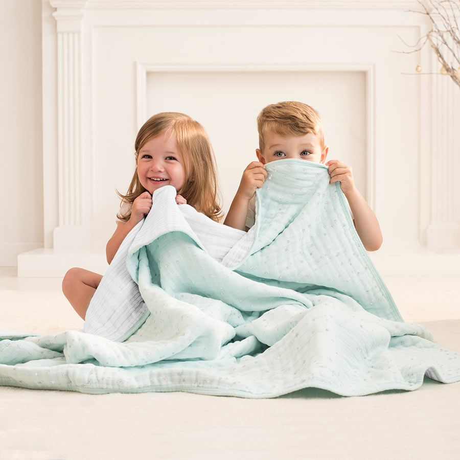 Aden & Anais Aden & Anais Metallic Muslin Dream Blanket