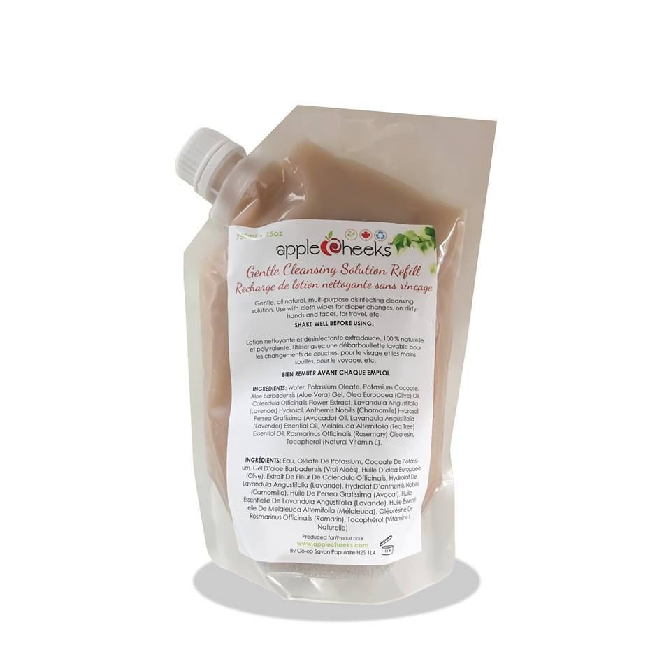 AppleCheeks AppleCheeks Gentle Cleansing Solution - refill