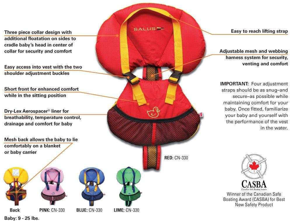 Salus Salus Bijoux Baby Vest 9-25 lbs