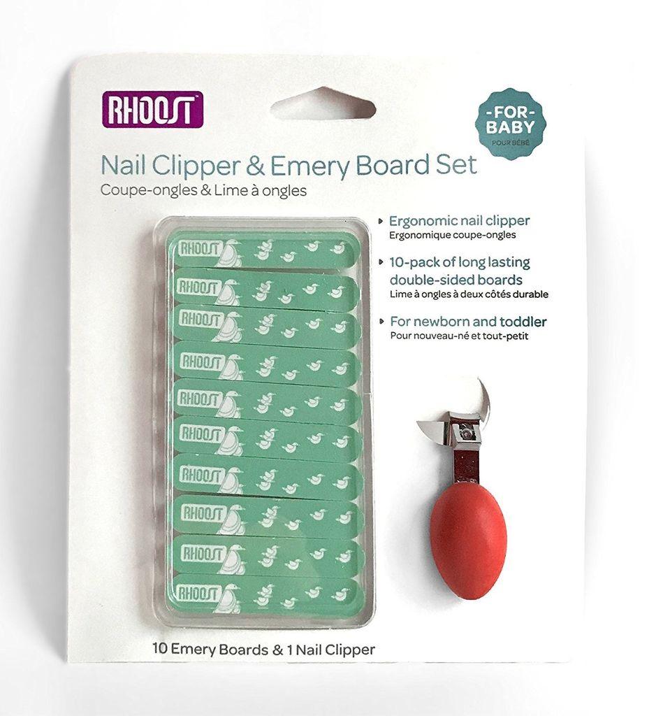 Rhoost Rhoost Nail Clipper & Emery Board Set